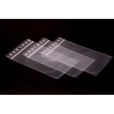 Woreczki strunowe PLUS (100 sztuk) 7 cm x 10 cm