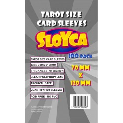 SLOYCA Koszulki Tarot (70x120mm) 100 szt.
