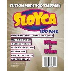Sloyca Koszulki Talisman (103x128mm) 100 szt.