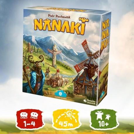 NANAKI (edycja Wspieram.to) + 2 karty dodatkowych plemion + naklejki (PRZEDSPRZEDAŻ)