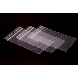 Woreczki strunowe PLUS (5 sztuk) 10 cm x 10 cm