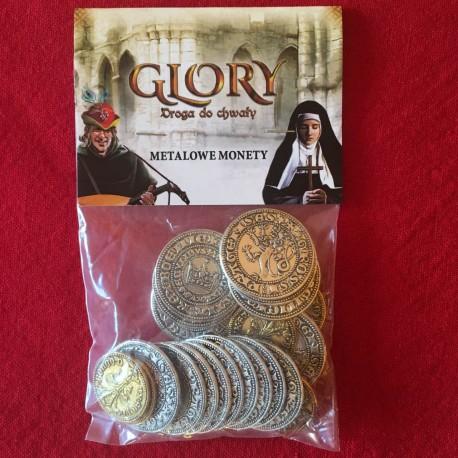 Glory: Droga do Chwały - metalowe monety (przedsprzedaż)