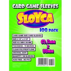 SLOYCA Koszulki Standard CCG (63,5x88mm) 100